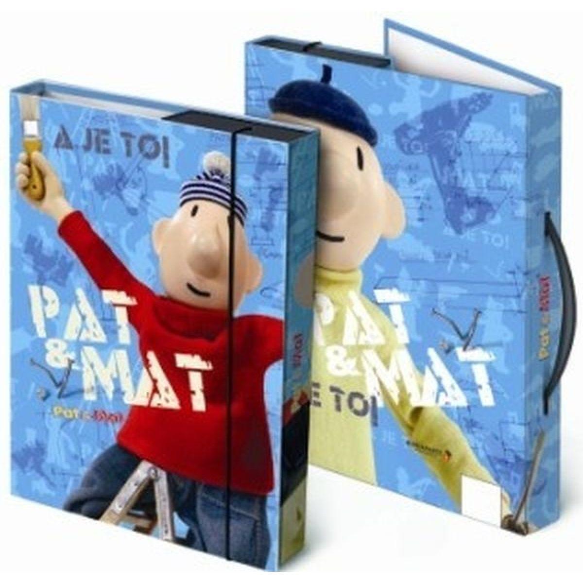 Bonaparte Box na sešity A4 - Pat a Mat