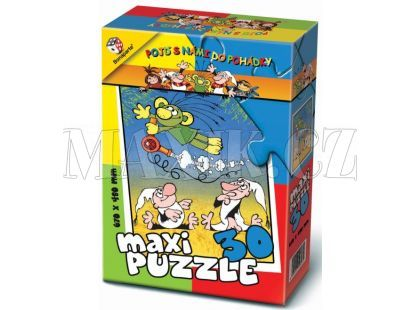 Bonaparte Maxi puzzle Pojď s námi do pohádky 30dílků