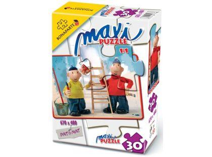 Bonaparte Pat a Mat Maxi puzzle Malíři 30dílků