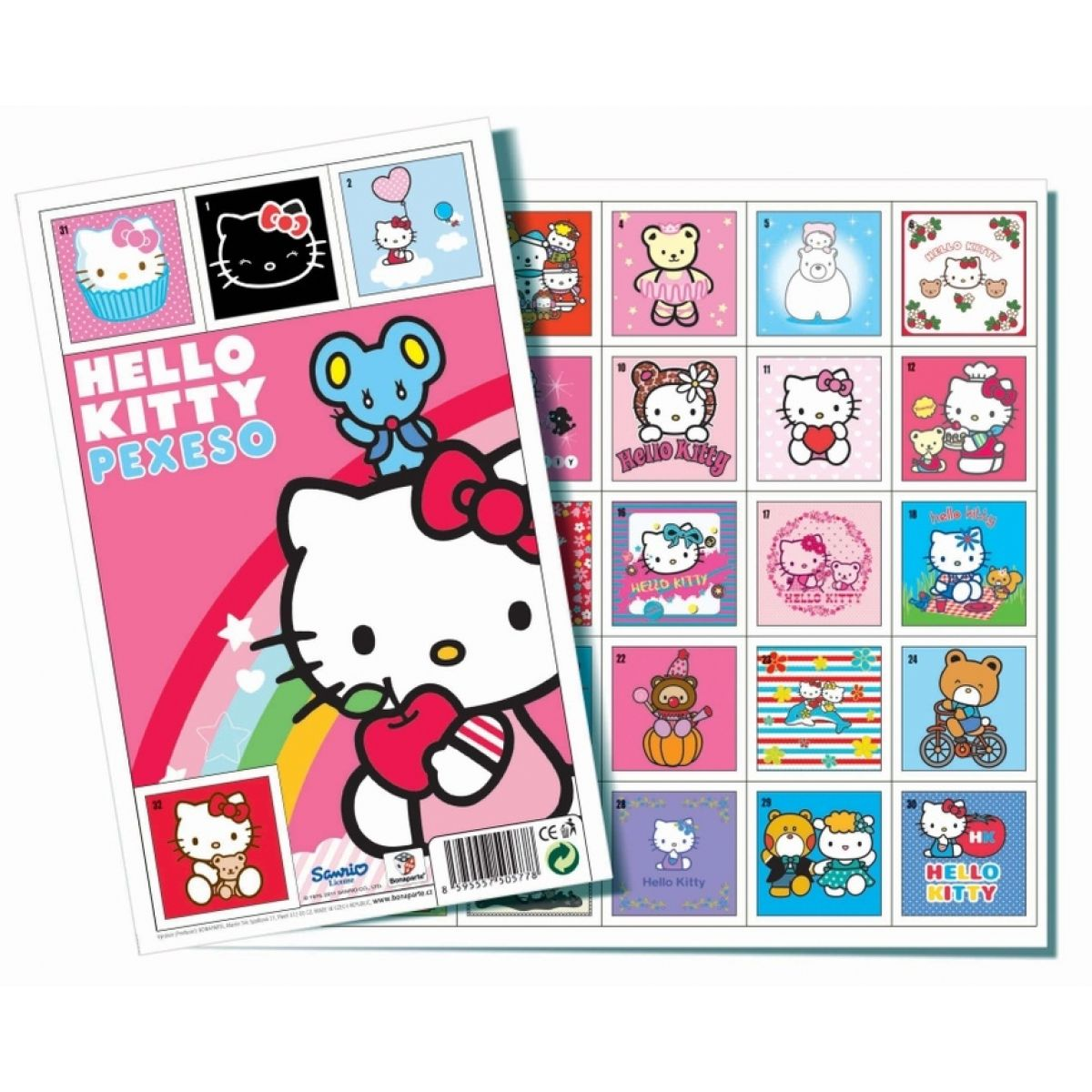 Bonaparte Pexeso Hello Kitty