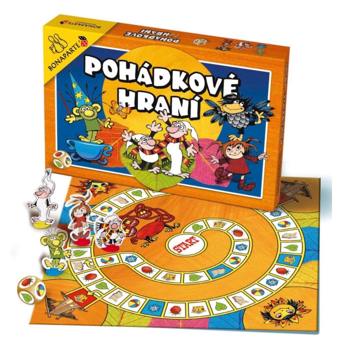 Bonaparte Pohádkové hraní Večerníček