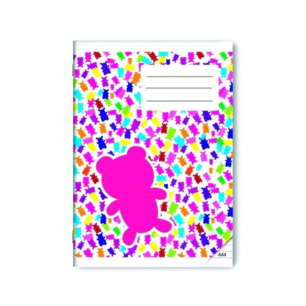 Bonaparte Sešit A4 444 Gummy Bears, 40 listů linkovaný