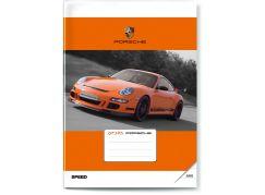 BONAPARTE Sešit Auto 444 - Porsche