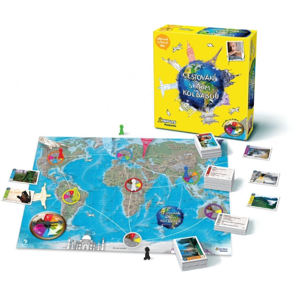 Bonaparte Společenská hra Cestování s Jirkou Kolbabou