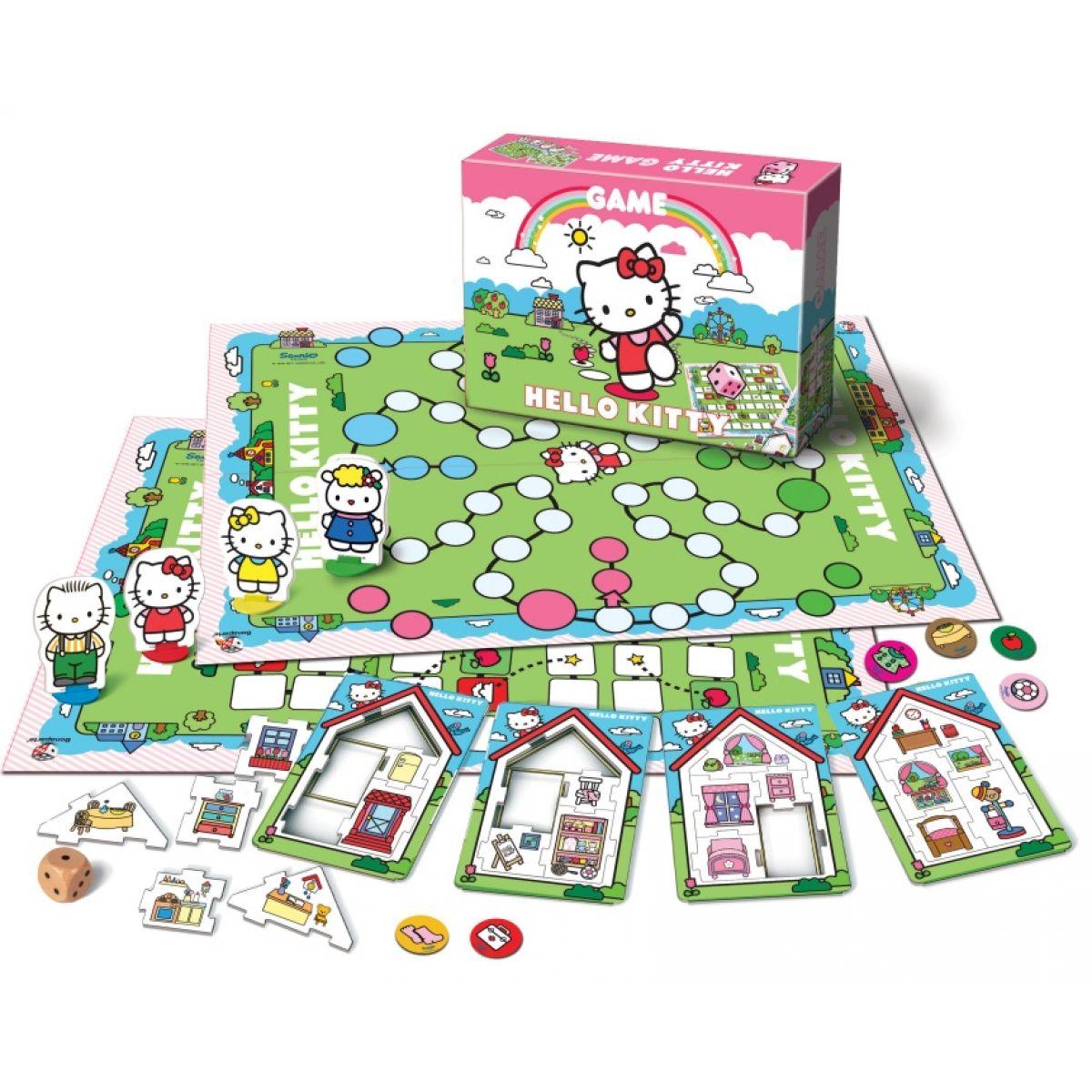 Bonaparte Společenská hra Hello Kitty velká hra