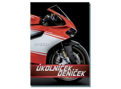 Bonaparte Úkolníček A6 Moto Speed