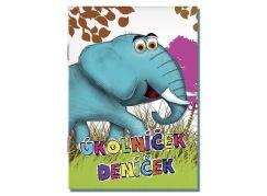 Bonaparte Úkolníček A6 Zvířata - Slon