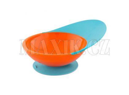 Boon Miska s přísavkou modro-oranžová B260