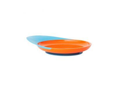 Boon Talíř s přísavkou modro-oranžový B262