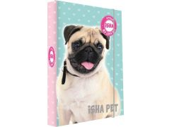 Karton P+P Box na sešity A4 Isha - My love Pet