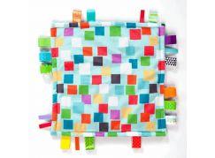 Bright Starts Dečka mazlící Little Taggies čtverečky