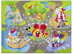 Bright Starts Podložka pěnová skládací Disney Pals 120 x 89 cm