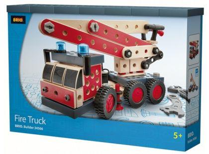 Brio Builder - stavebnice hasičský jeřáb 159ks