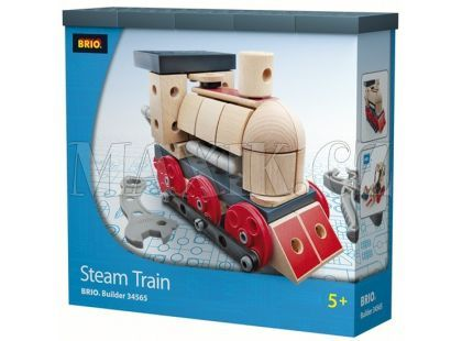 Brio Builder - stavebnice lokomotiva 120ks
