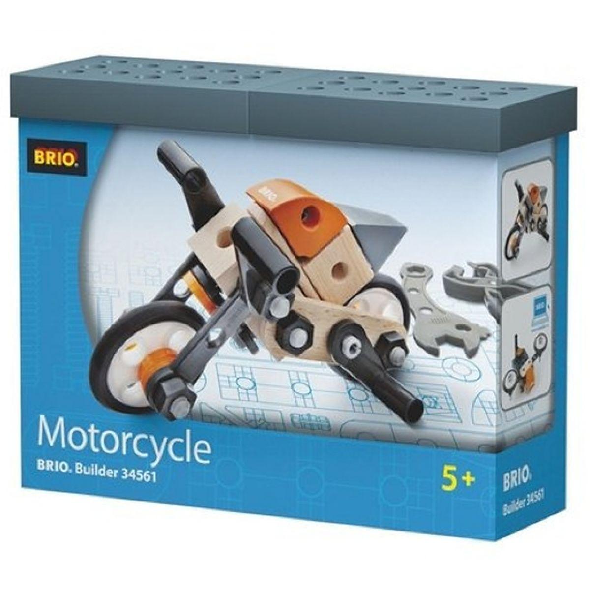 Brio Builder - stavebnice motorka 54ks