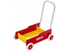 Brio Chodítko vozík červenožlutý