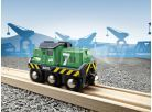 Brio Elektrická lokomotiva zelená 3