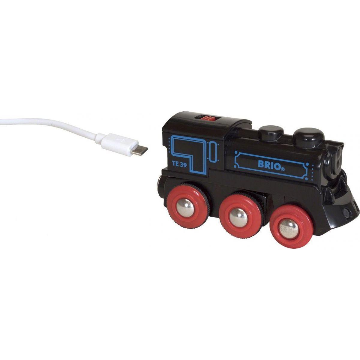 Brio Elektrická lokomotiva nabíjecí