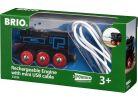 Brio Elektrická lokomotiva nabíjecí 2