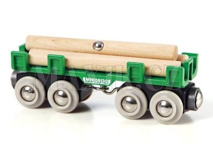 Brio Nákladní vagon s kládami