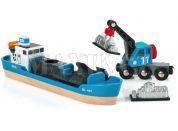 Brio Nákládací loď převážející kontejnery s jeřábem