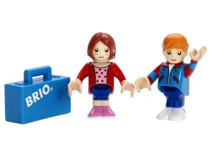Brio Panáček a panenka s kufrem