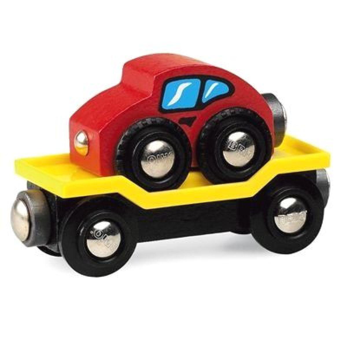 BRIO Přepravní vagon na auta