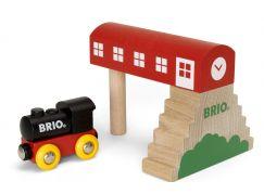 Brio Série klasic Vlaková stanice - Poškozený obal
