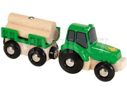 Brio Traktor s přívěsem a nákladem