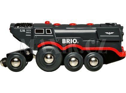 Brio Velká elektrická parní lokomotiva
