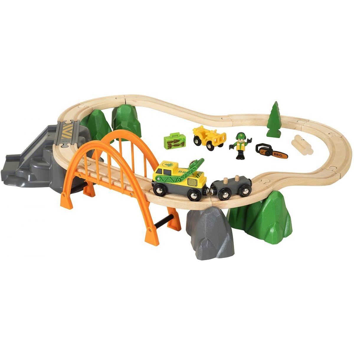 Brio Vláčkodráha s nákladním vlakem