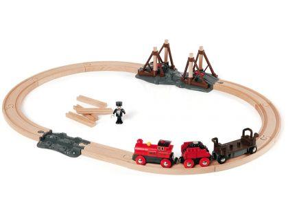Brio Vláčkodráha s parní lokomotivou 33030