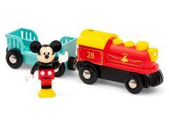 Brio World 32265 Vlak na baterie Myšáka Mickeyho