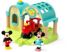 Brio World 32270 Nádraží Myšáka Mickeyho s nahráváním zvuku