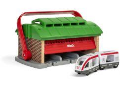 Brio World 33474 Přenosné vlakové depo