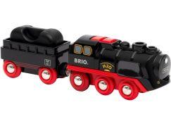 Brio World 33884 Parní lokomotiva s vodní nádrží na baterie