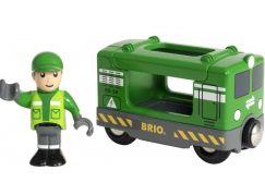 Brio World 33894 Nákladní lokomotiva se strojvedoucím