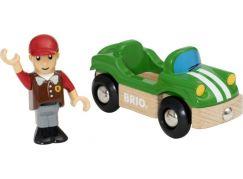 Brio World 33937 Hrací set sportovní auto