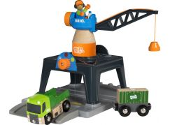 Brio World 33962 Jeřáb Smart Tech