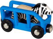 Brio World 33967 Zebra a vagónek
