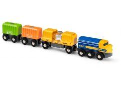 Brio World 33982 Nákladní vlak se třemi vagony