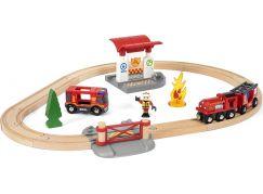 Brio Záchranářská vláčkodráha hasiči