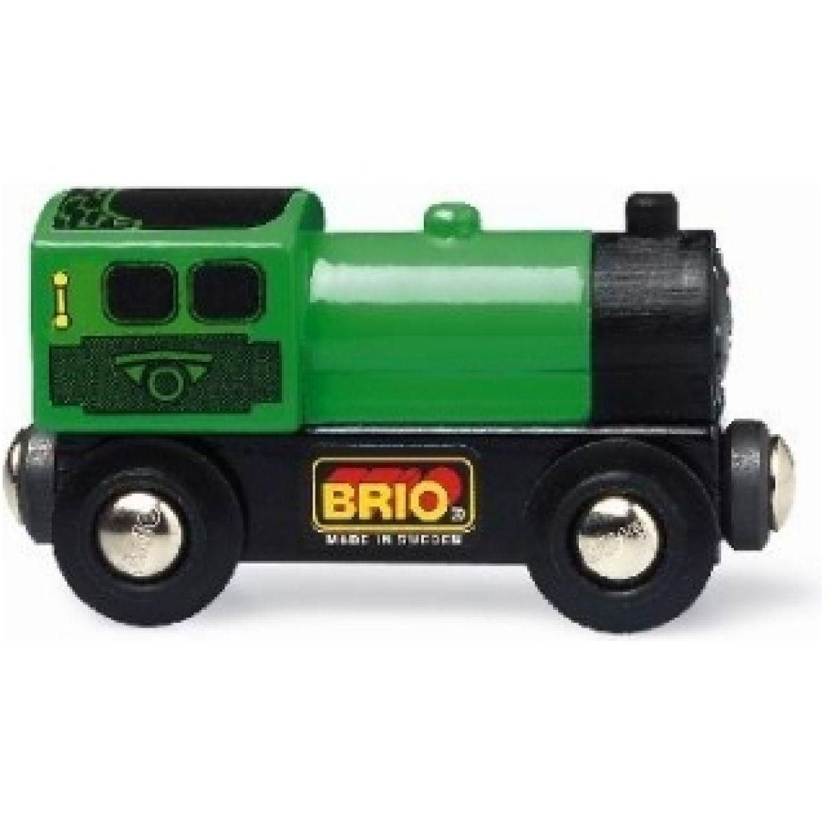 Brio Zelená lokomotiva