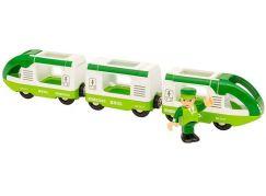 Brio Zelený cestovní vlak