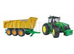 Bruder 01173 Traktor John Deere 7930 s přívěsem Joskin