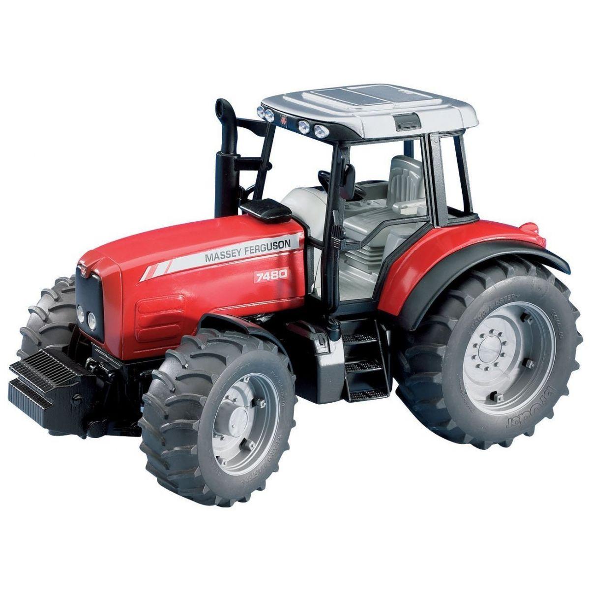 Bruder 02040 Traktor Massey Ferguson 7480