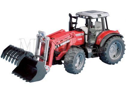 Bruder 02042 Traktor Massey Ferguson+čelní nakladač