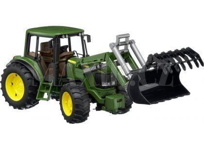 Bruder 02052 Traktor John Deere 06920 + čelní nakladač