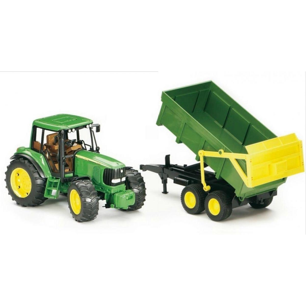 Bruder 02058 Traktor John Deere 6920 + sklápěcí valník
