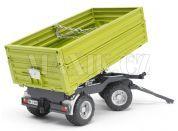 Bruder 02203 Sklápěcí vůz Fliegl zelený, třístranný